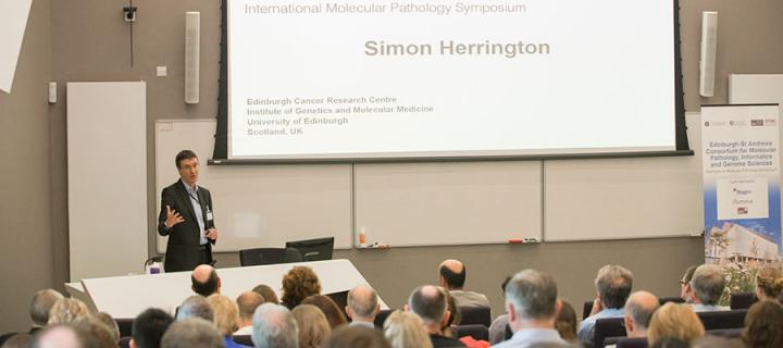 Simon Herrington International Molecular Pathology Symposium