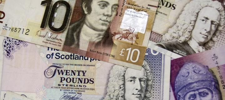 Scottish banknotes