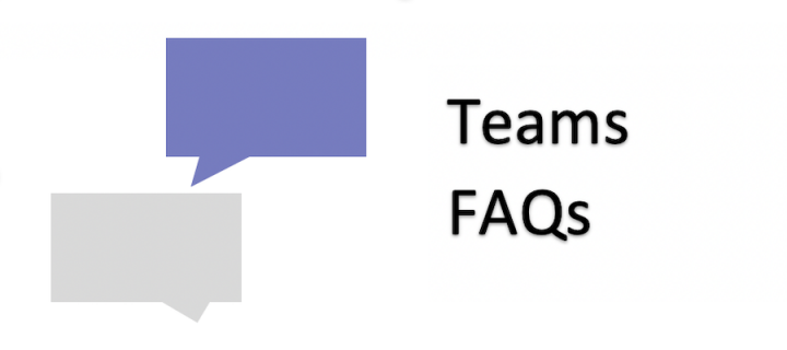 Teams FAQs associated image
