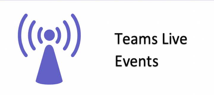 Associated image for Teams Live events