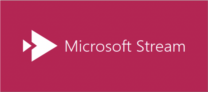 Associated image for Microsoft Stream landing page