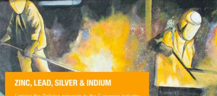 Zinc, lead, silver and indium: Linking the Bolivian minerals to the European industry