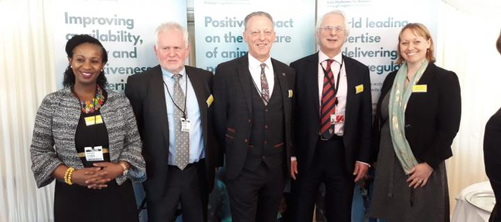 New SMArt board trustees at the launch event in London. Photo credit: SEBI
