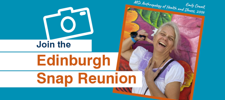 Join the Edinburgh Snap Reunion - Photo of 2006 graduate Emily Cowall