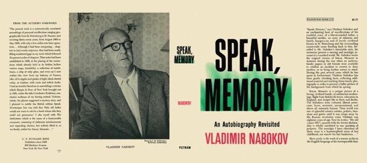 "Cover of ""Speak, Memory"""