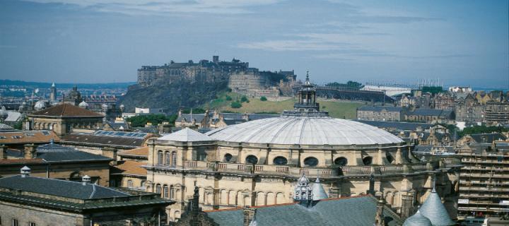 View of castle