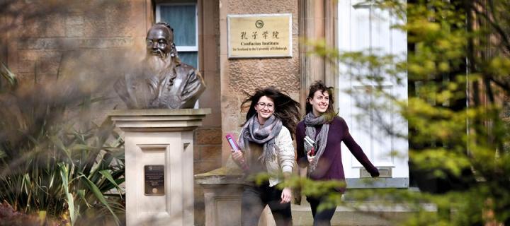 Students at the Confucius Institute