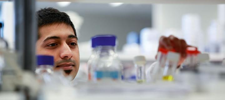 Photo of PhD student Harsh Vaidya