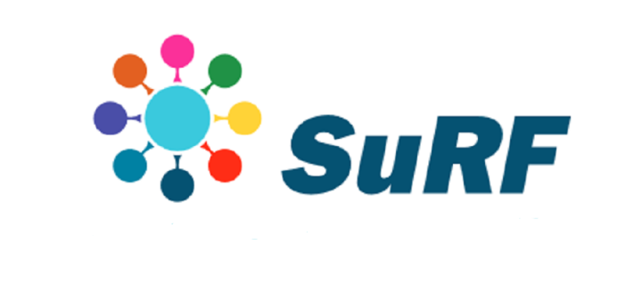 Shared University Research Facilities (SuRF) logo
