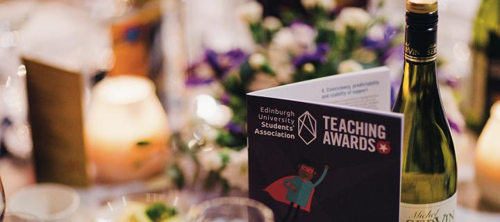 Student Association Teaching Awards 2017