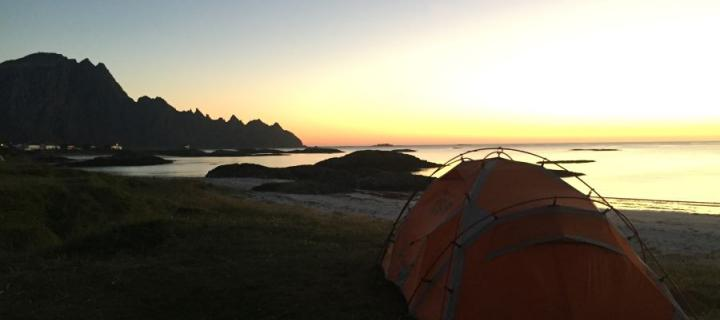 Iceland  - Tent with a view