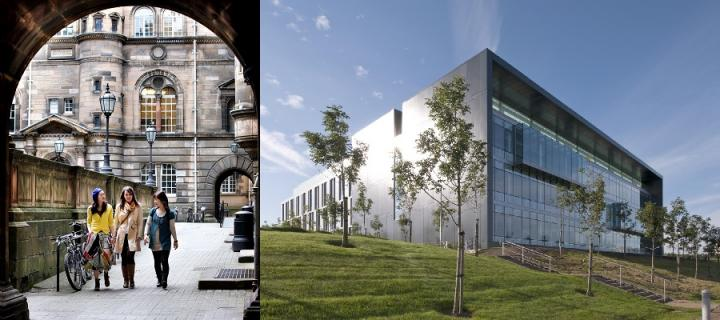 Old Medical School, Teviot Place and Nine Edinburgh BioQuarter