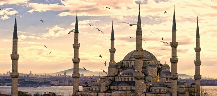 Spires in Turkey