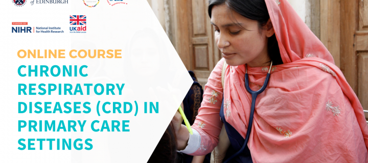 Online Course: Chronic Respiratory Diseases (CRD) in Primary Care Settings