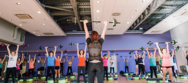 Exercise classes, workshops and courses