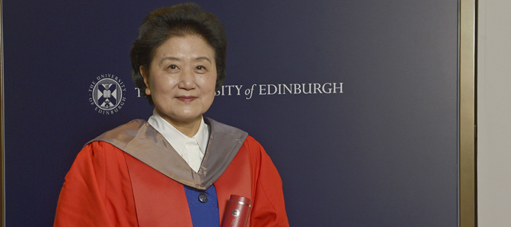 Honorary degree for China's Vice Premier