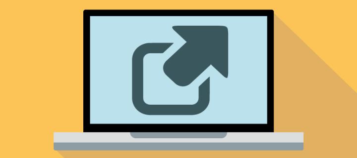 Useful external links icon