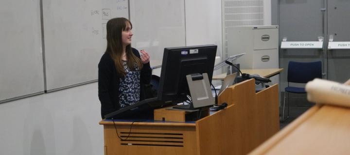 Student speaker post offer visit day