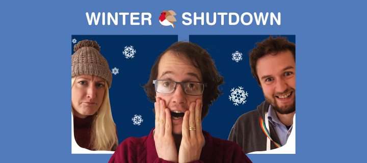 Staff winter shutdown banner 2019