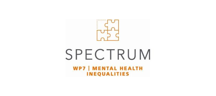Icon with title of work package: mental health inequalities