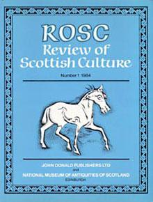 Review of Scottish Culture Volume 1 cover