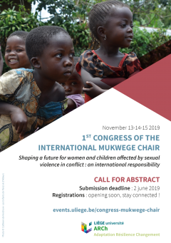 PDF call for abstrats for the 1st Congress of the International Mukwege Chair