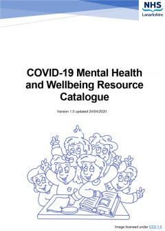 Covid 19 resource catalogue cover