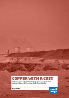 Copper with a cost – Human rights and environmental risks in the minerals supply chains of ICT: A case study from Zambia