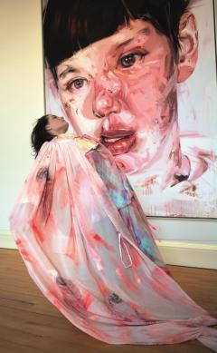 Outfits and dance inspired by Jenny Saville