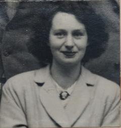 Dr Gillian Gilchrist as a student