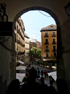 Archway in Madrid