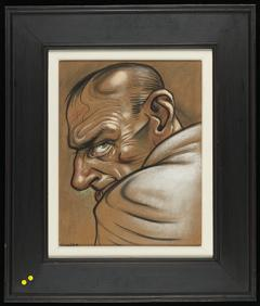 Head V by Peter Howson