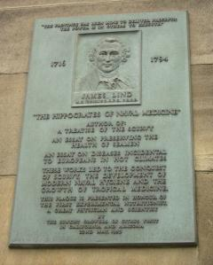 James Lind plaque