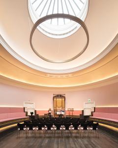 St Cecilia's Concert Hall interior