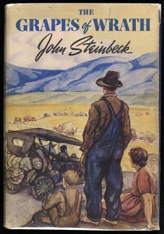 Grapes of Wrath jacket