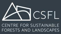 centre for sustainable forests and landscapes logo