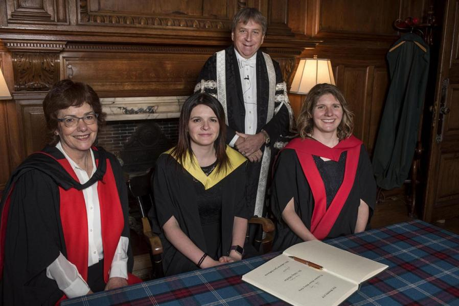 Medal award for Athena SWAN work by University of Edinburgh's Principal