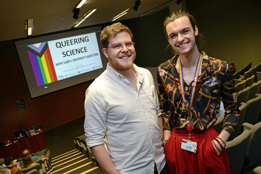 Seminar on the importance of LGBTQ+ diversity in STEM