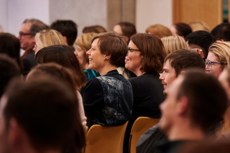 Audience at the Salvesen Lecture