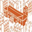 Illustration of the Edinburgh Centre for Carbon Innovation