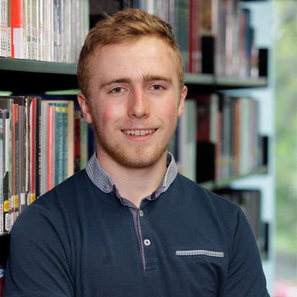 Callum McCadden 4th year MA (Hons) Sustainable Development